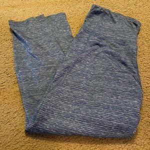 Blue 7/8 leggings